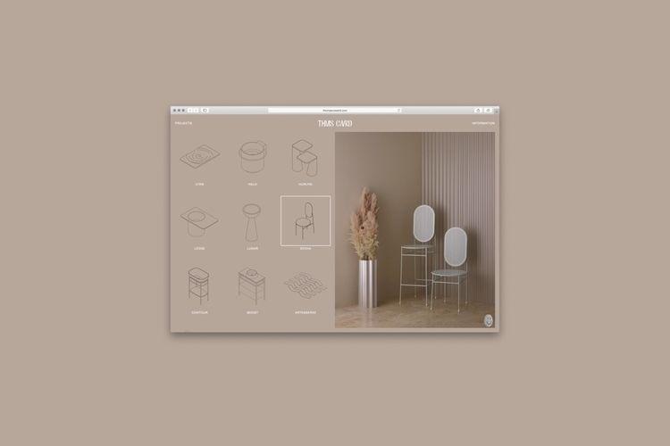 Website Logotype Thomas Coward  - studiospgd | ello