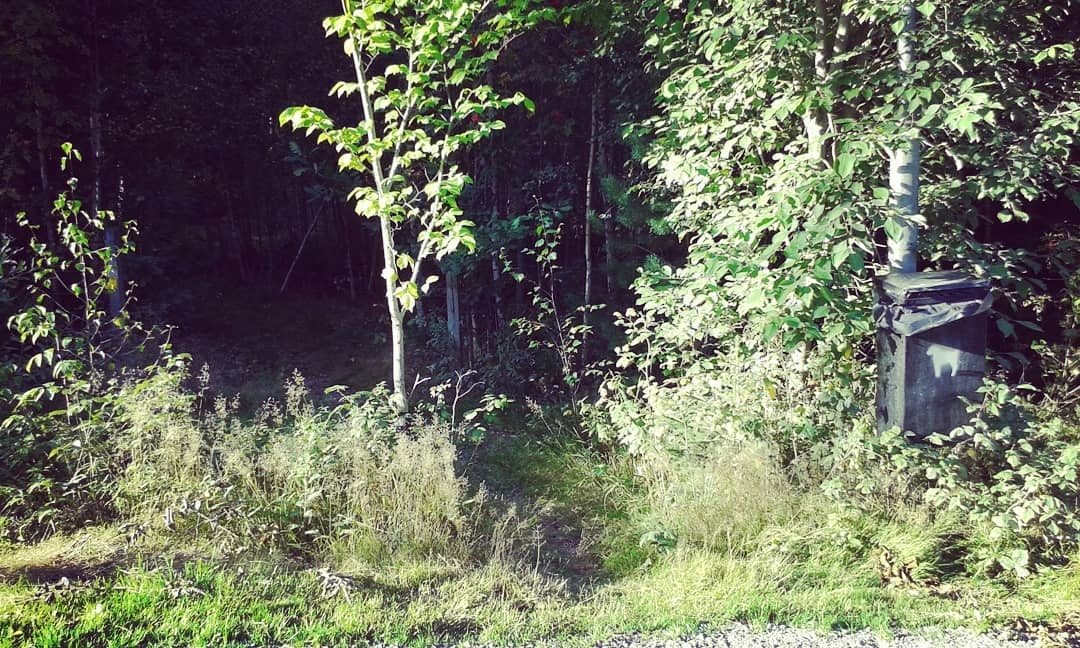 Minsta entrén Hovshaga Begravni - skogskyrkogardar | ello