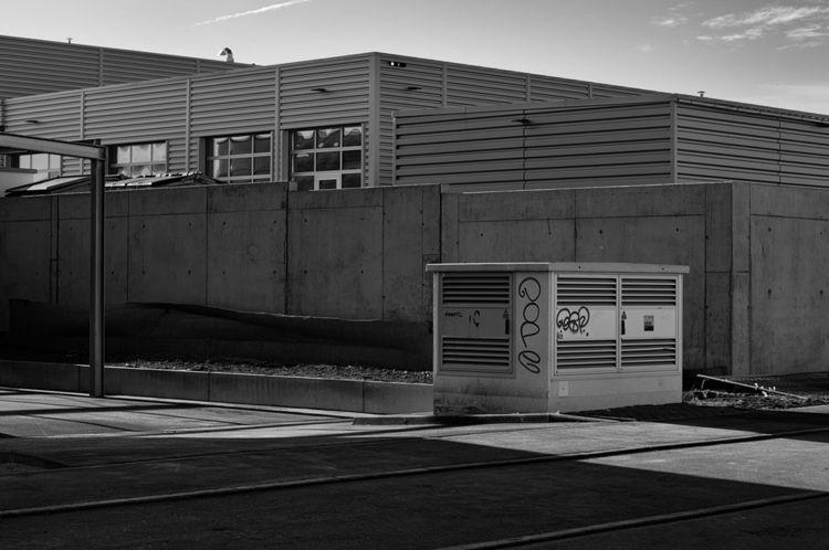 Outpost - photography, industrialzone - marcushammerschmitt | ello