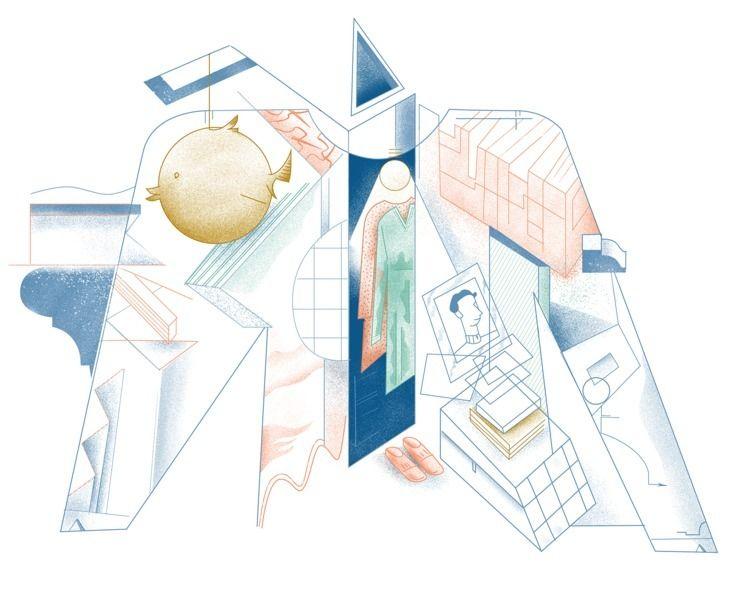 Closet Herengracht 401 Drawing  - cesdavolio | ello