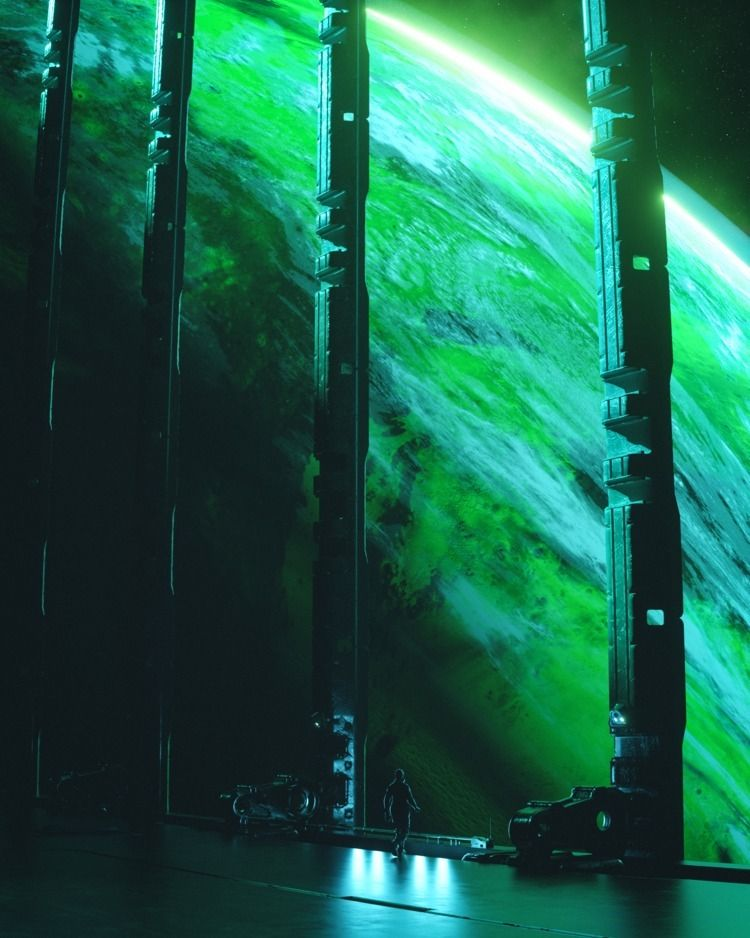 OVERBLOOM  - cinema4d, c4d, maxon - liaam | ello