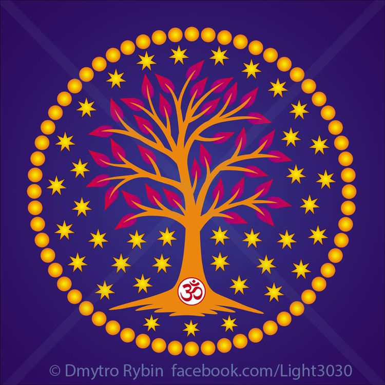 Tree life. Mandala - tree, mandala - dmytroua | ello