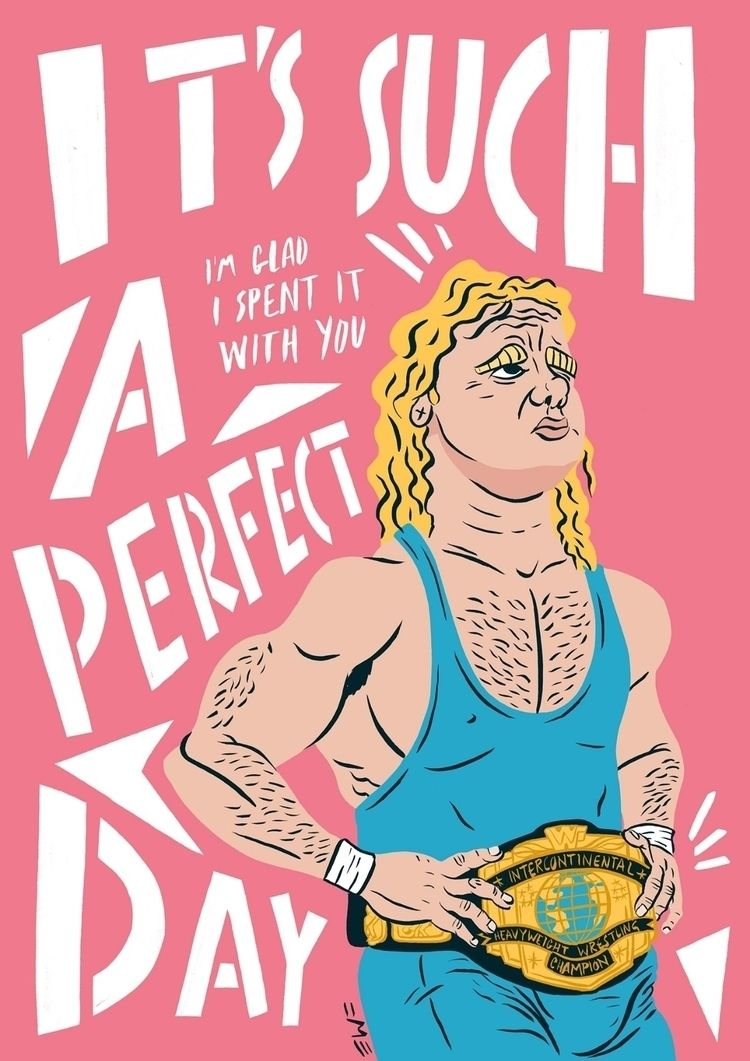 Perfect Day - illustration, mrperfect - eastworthingsfinest | ello