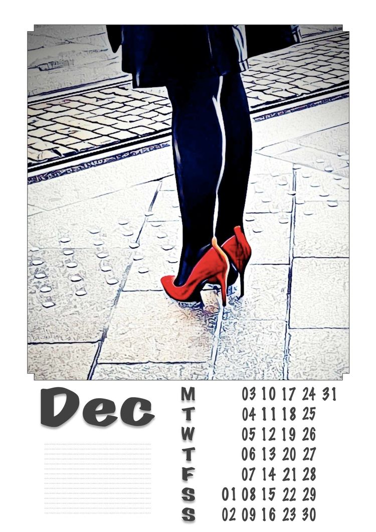 | December - Legs, Heels, Photography - ziolele | ello