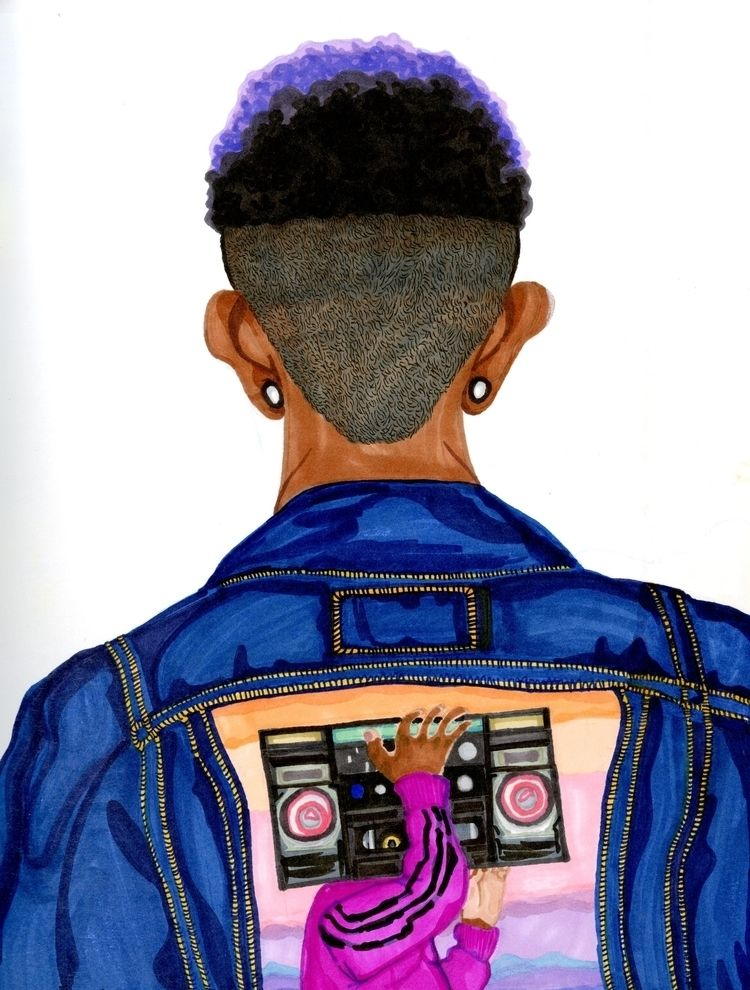 Denim Jacket rearview (2018) 8  - ccmicheau | ello