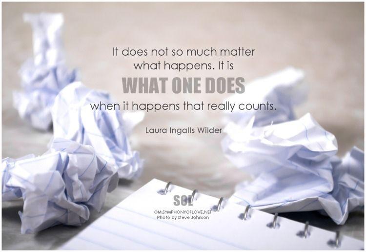 matter counts. Laura Ingalls Wi - symphonyoflove | ello