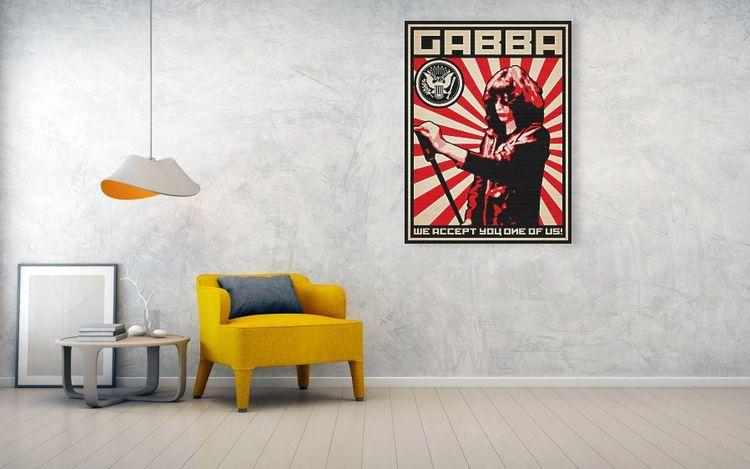 GABBA Gabba hey! propaganda-sty - lancevaughn | ello