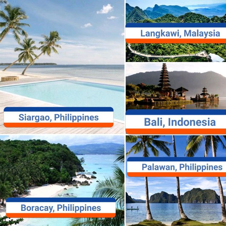 spend Choose Top 5 Islands Asia - vicsimon | ello