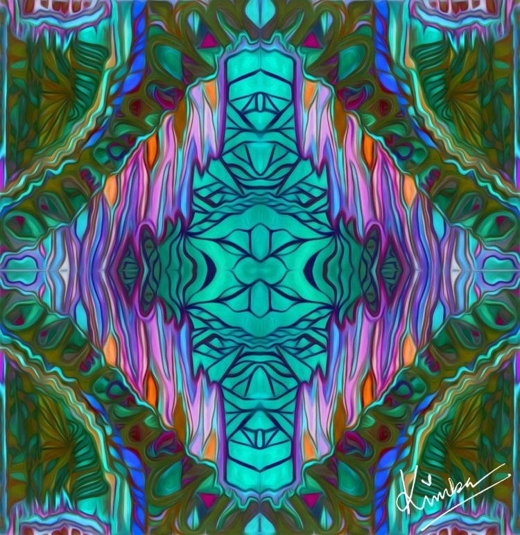 kimbaart, abstract, mixmedia - kimbahanghal | ello