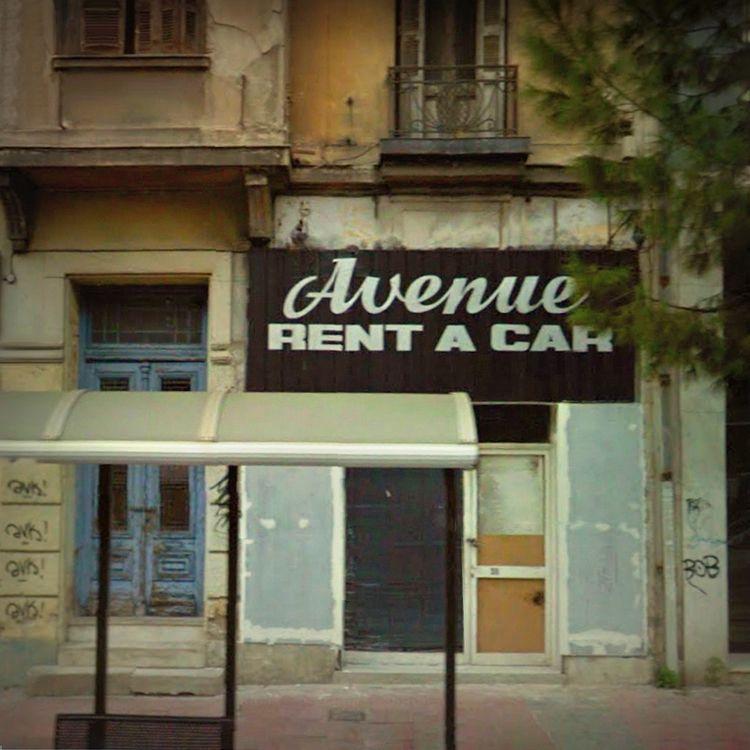 Avenue Athens, Greece - rephotography - dispel | ello