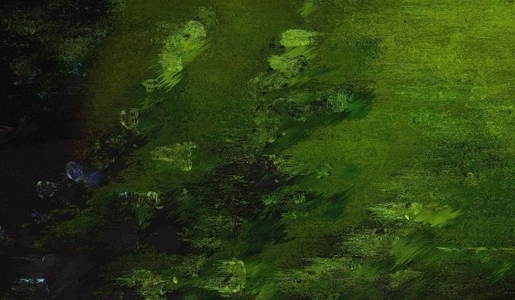 Green riot - detail, graphicart - gregsted | ello