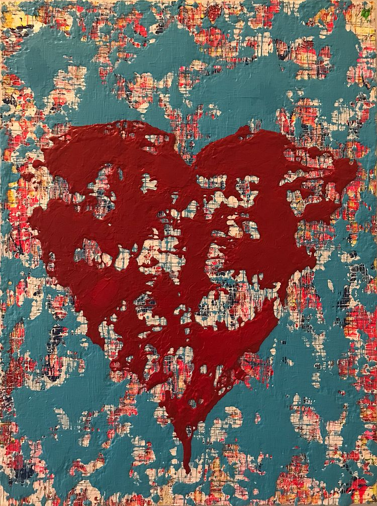 HOLIDAY SALE untitled heart 12 - nuisms | ello
