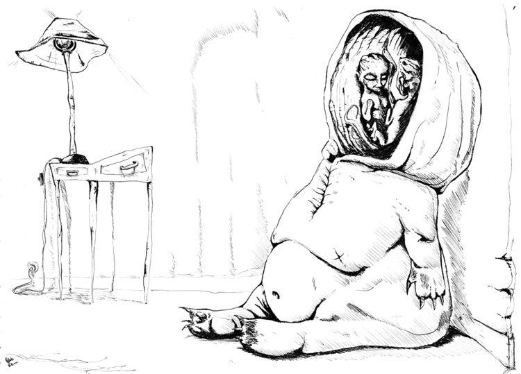 Hibernation Ink paper - art, inkandpaper - nikita_r | ello
