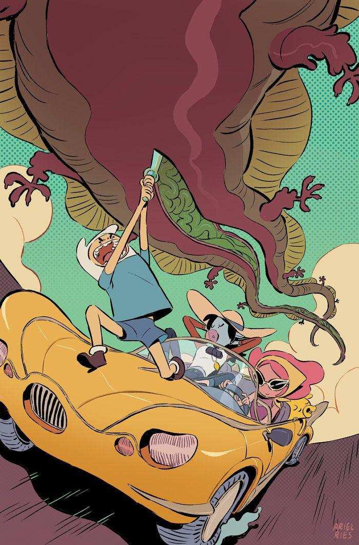 Adventure Time Comics Issue Cov - arielries | ello