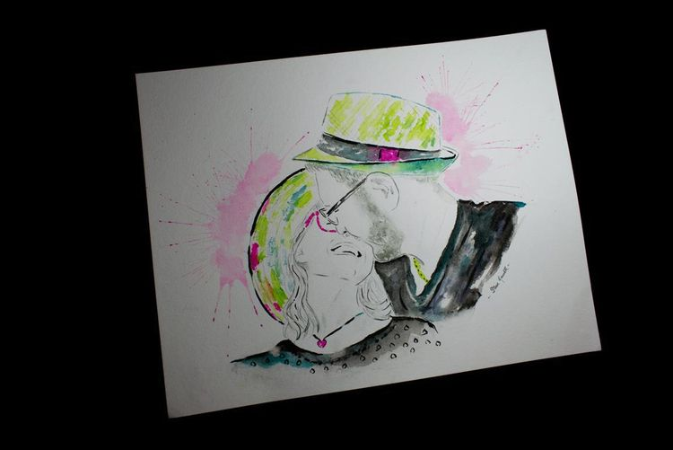 portrait, watercolor, art, illustration - stevehewittartstudio   ello