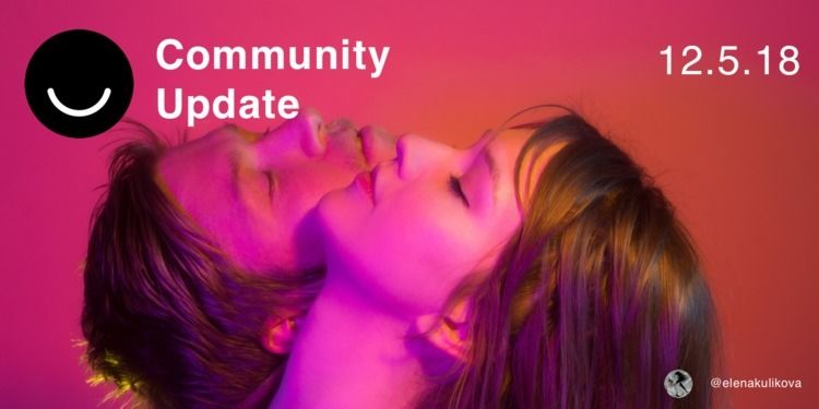 Community Update 12/5/2018 Happ - elloblog | ello