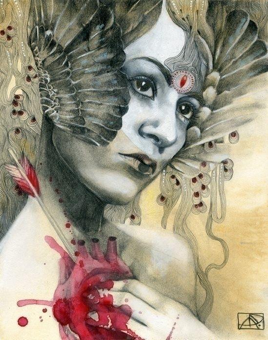 remember pain heartbreak? Amazi - beautifulbizarremagazine | ello