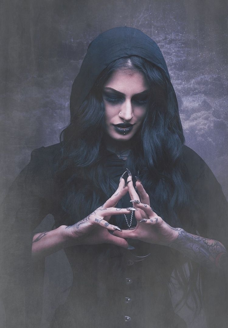 Witch - darkart, pagan, witch, tattoo - michaelhuxley | ello