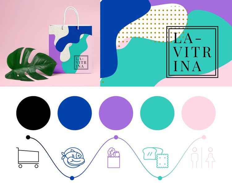 Corporate visual identity La Vi - mariamarqueses | ello