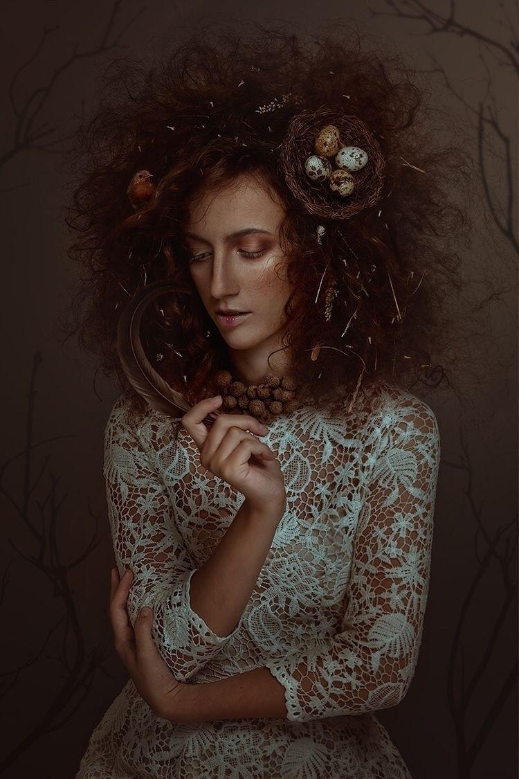 """Avian Princess"" – Photographer - darkbeautymag | ello"