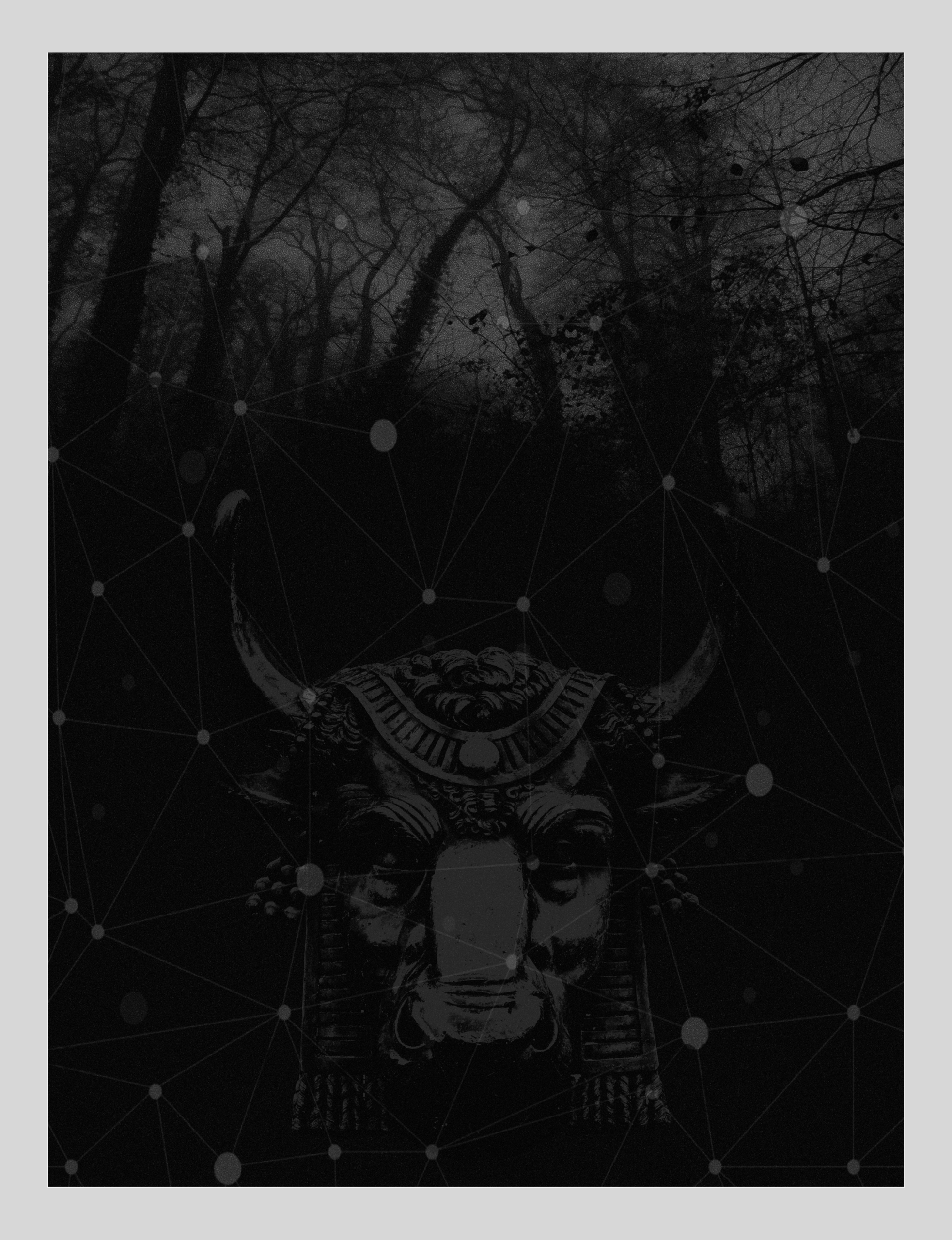 Minotaur. art#blackwhite - art#Minotaur#labyrinth#digital - astroturf | ello