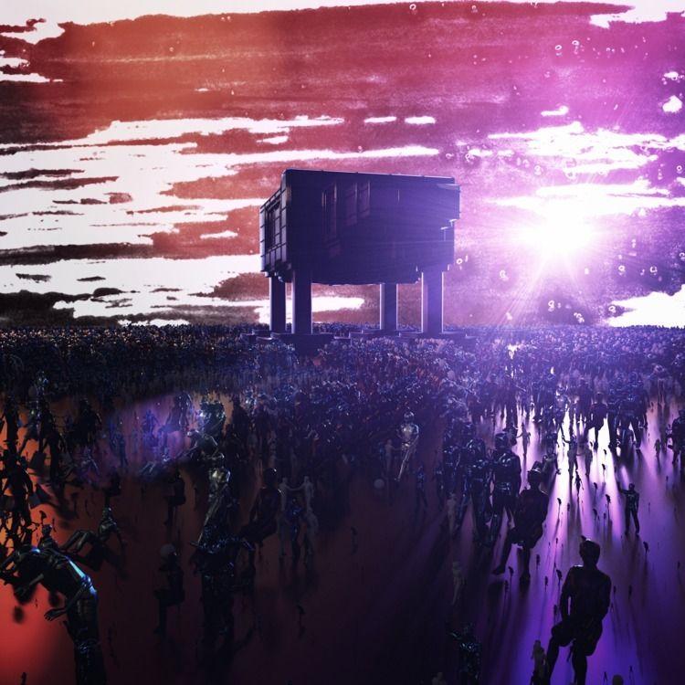 SCATTERED - cinema4d, render, octane - daronavstuff | ello