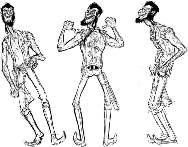 character design sketches Wilhe - punchesco | ello