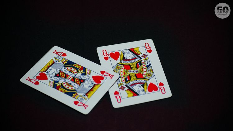 King Queen - Regina, CarteDaGioco - 50millimetri | ello