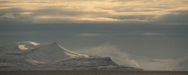 coal-fired power plant Barentsb - aramatzne | ello