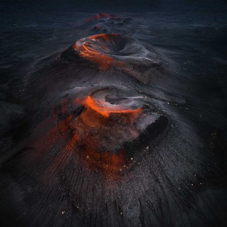 Crater Series: Volcano Photogra - photogrist | ello