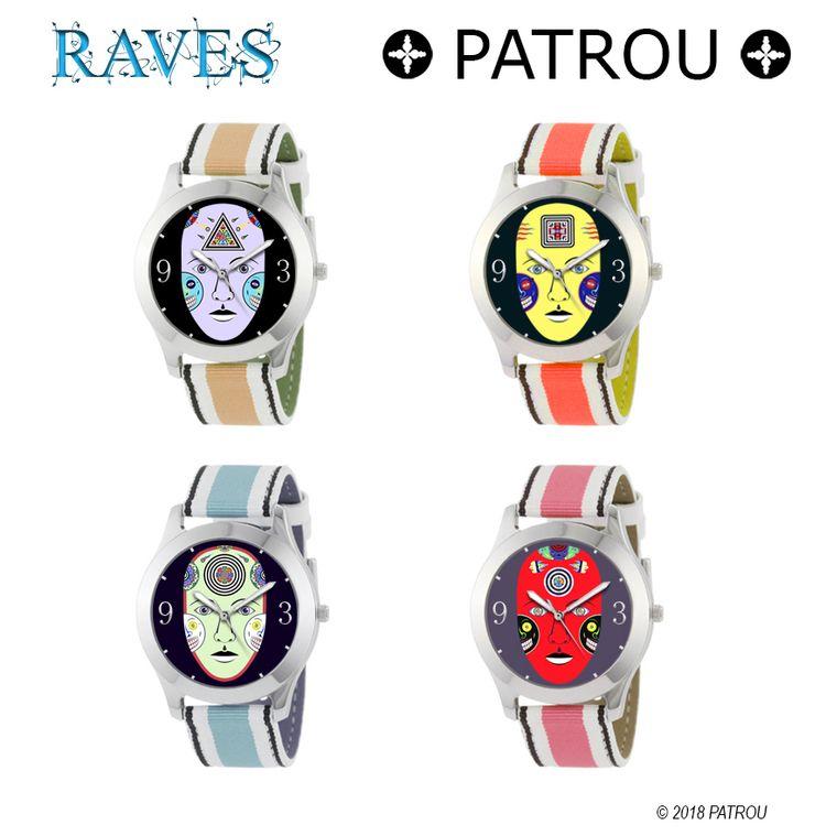 PATROU DESIGN -- 2018 Patrou - wristwatch - patrou | ello