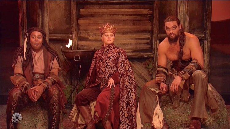 Khal Drogo returns! Jason Momoa - bonniegrrl | ello