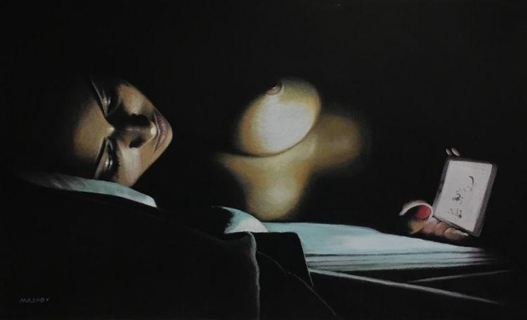 'Sweet dreams' 16 11 Pastel 201 - micheleashby | ello