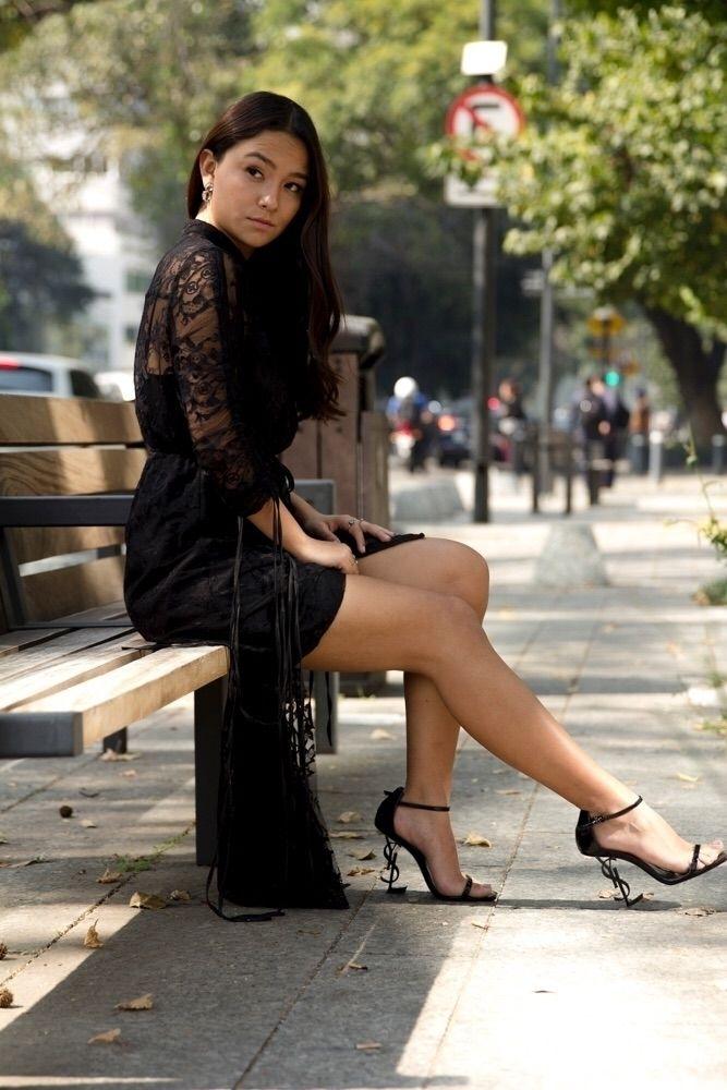 Bárbara Santana Fashion blogger - mario_morales | ello