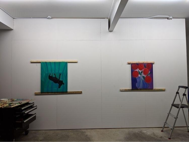 studio, Monday, art, artists - markbarry | ello