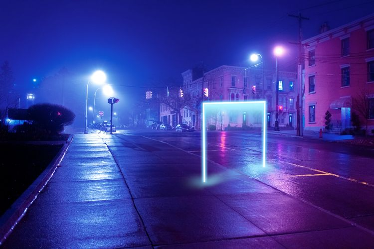 Neon Midnight Fog Photography S - adrianoink | ello