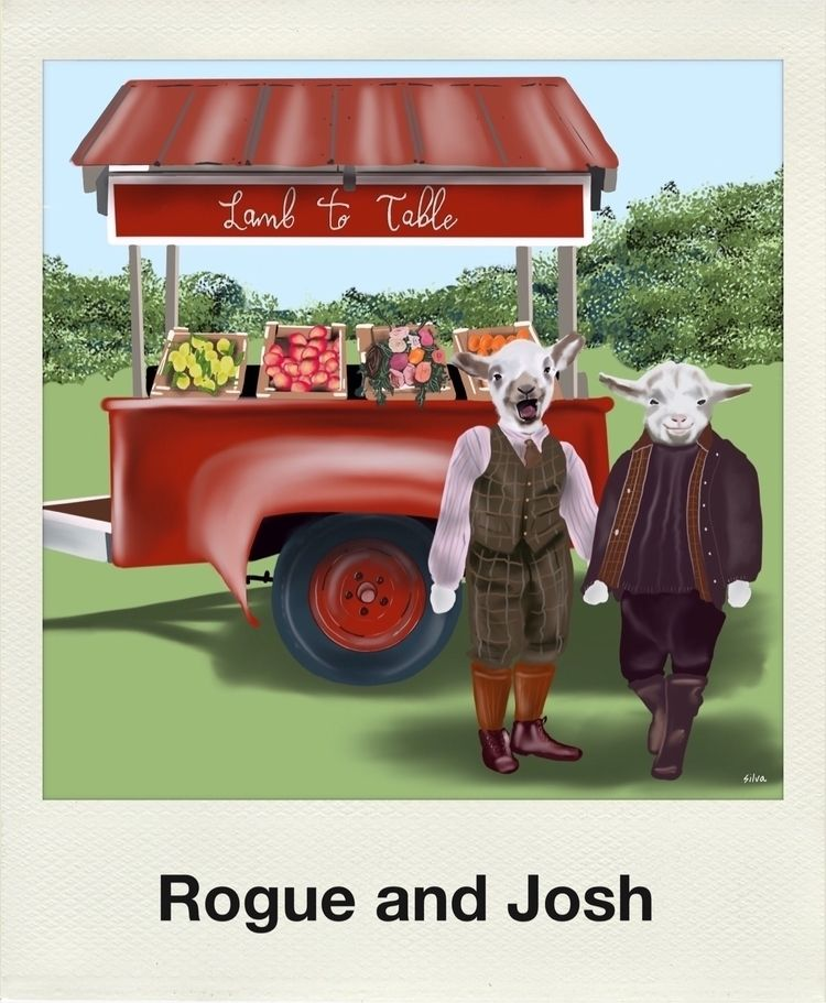 Meet lambs Rogue Josh - MouseyGals - nightrav3n | ello