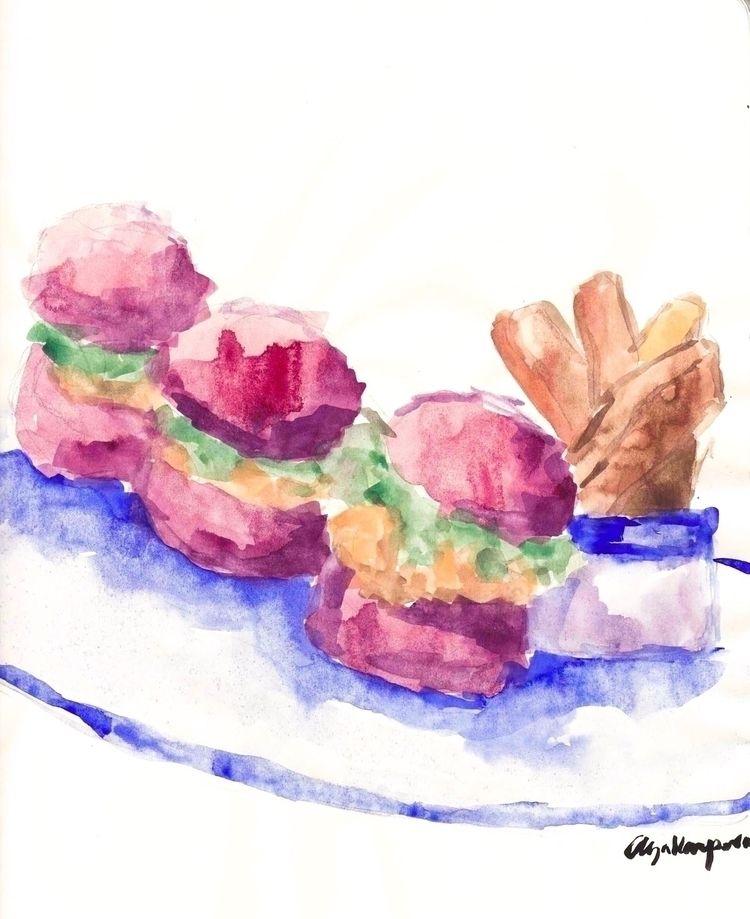 Pink Life Watercolours paper 20 - olyakarpova | ello