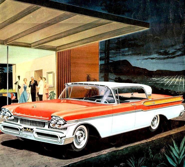 Mercury (1957 - 1950s, 50s, vintage - coolvintagecars | ello