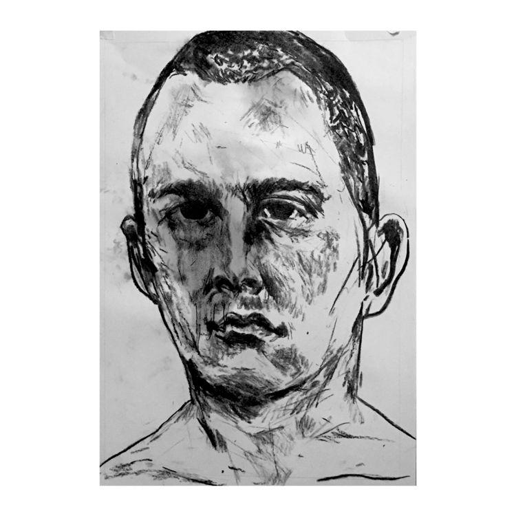 portrait, sketch, illustration - camillefoucou | ello