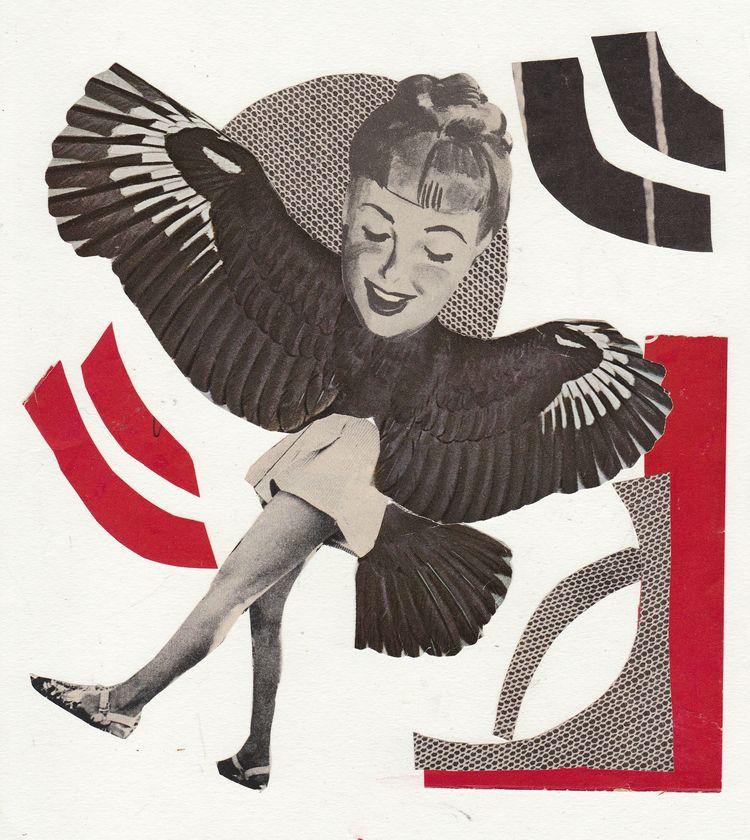 Shake Tail Feather Collage Jean - jeanneteolis | ello