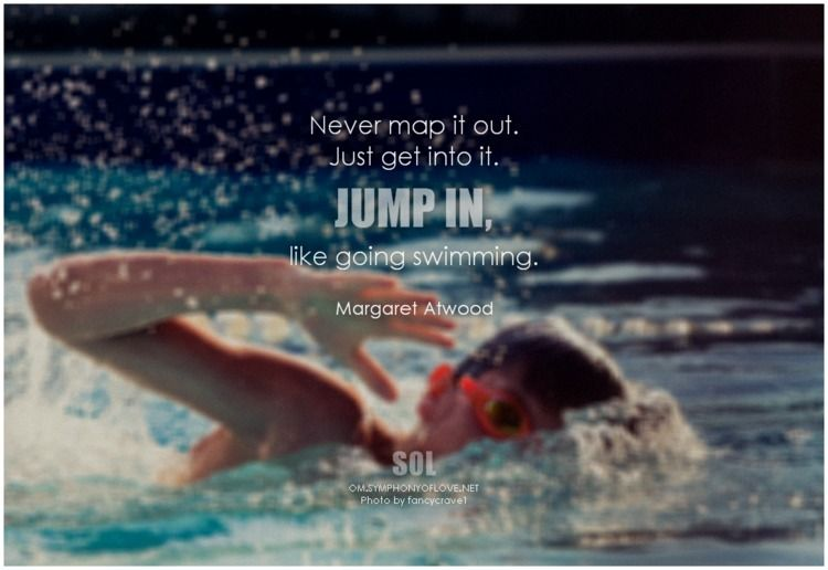 map Jump swimming. Margaret Atw - symphonyoflove | ello