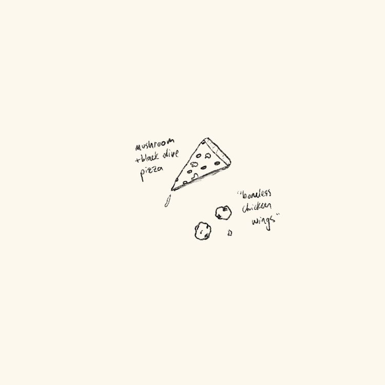 Dinner series - pizza - evandsears | ello