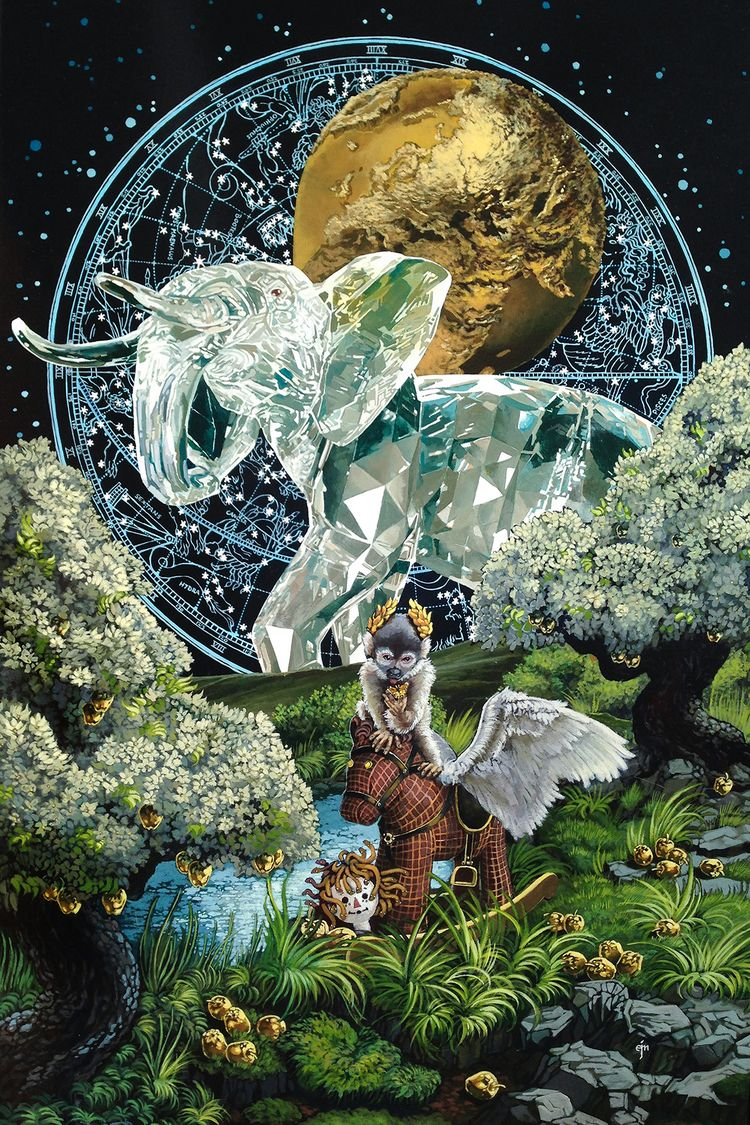 Amazing paintings visual artist - nettculture   ello