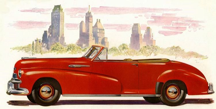 Oldsmobile Special Convertible  - coolvintagecars | ello