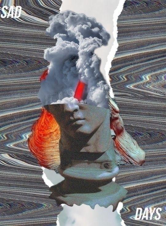 collage, collageart, photoshop - depressedpsycho | ello