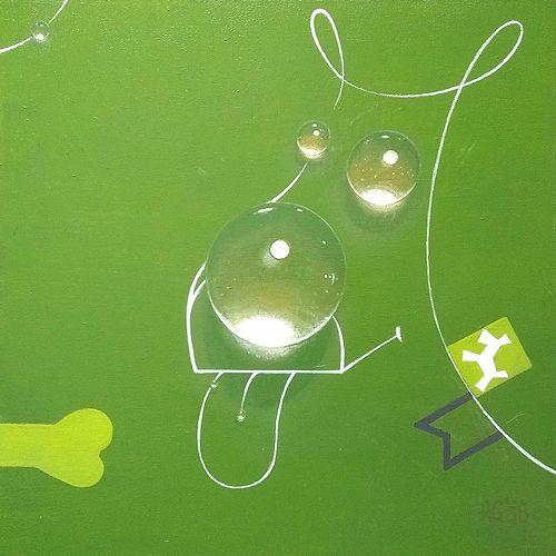 Picture canvas, painted Artur G - grabatdot | ello