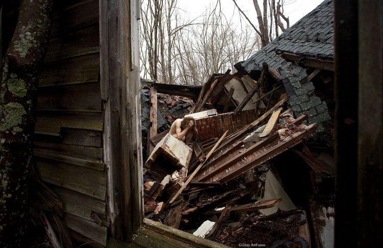 Wreckage 3 Penobscot, Maine. Ap - gloriagray | ello