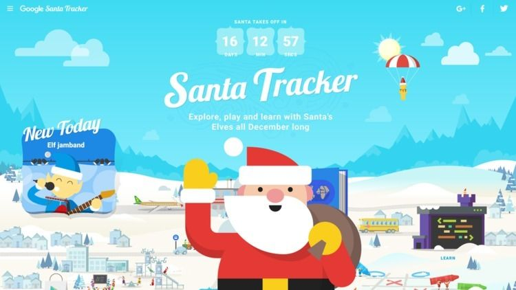 Track Santa 2018? Christmas Eve - charlienoahim   ello