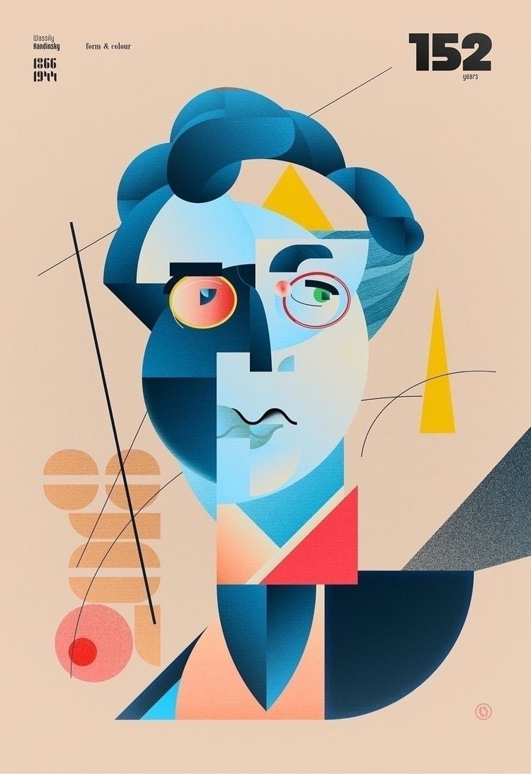 Happy Birthday Wassily (1866-19 - bauhaus-movement | ello